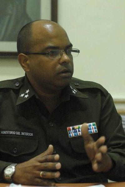 Coronel Idael Fumero