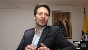 Guillaume Long, canciller de Ecuador.  Foto: telesurtv.net