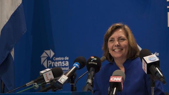 Josefina Vidal.  Foto: Ismael Francisco/cubadebate.cu