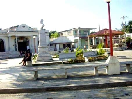 Parque Martí en Mayarí. Foto: radiorebelde.cu