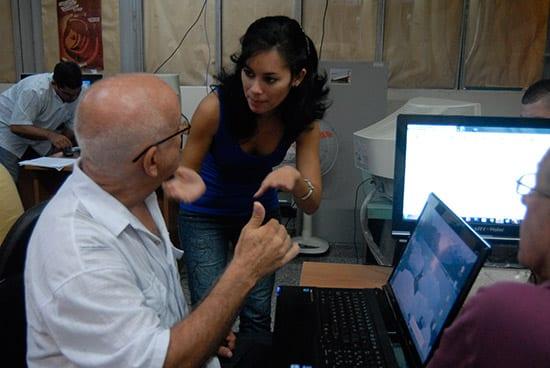 Periodismo cubano. Foto: juventudrebelde.cu