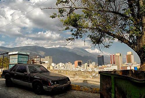 Vista del centro de Caracas.  Foto: Caridad