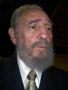 Fidel Castro ha sido siempre un astuto político y tal vez sea en el tira-y-afloja con los EE.UU. en lo que más haya brillado. Foto: Raquel Pérez Díaz