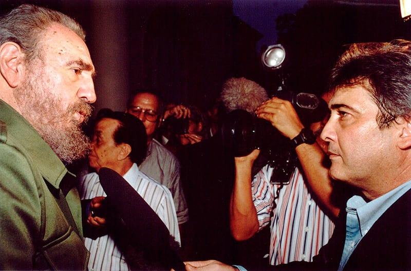 Entrevista con Fidel Castro, septiembre 2006. Foto: Alejandro Pérez
