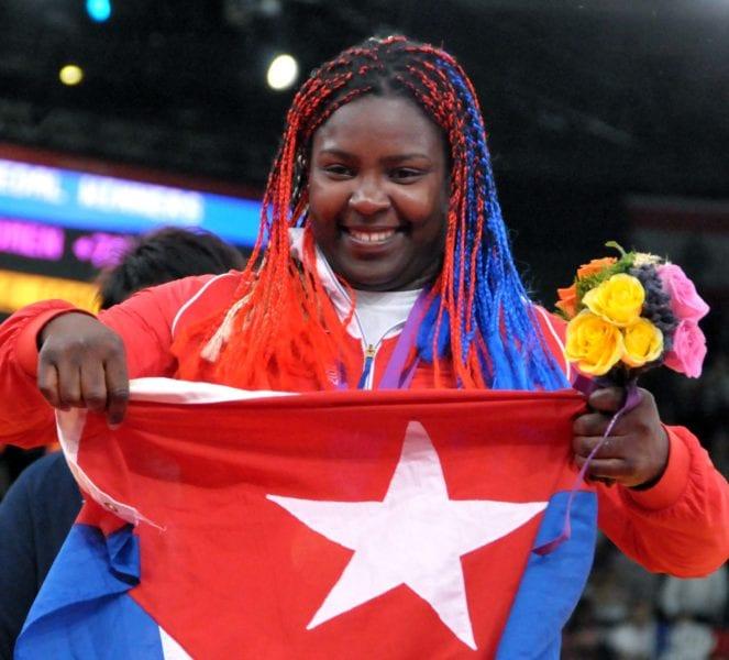 La judoca cubana Idalys Ortiz Foto/archivo: AIN/Marcelino Vazquez