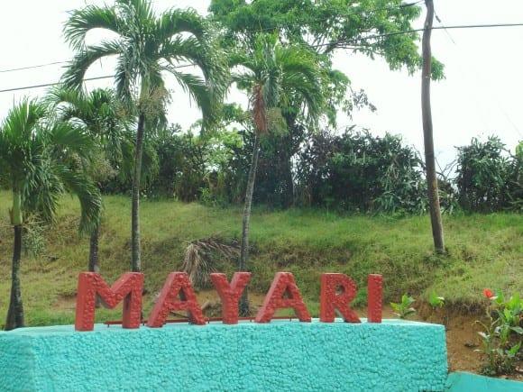 En la entrada al municipio de Mayarí. Foto: cubadebate.cu