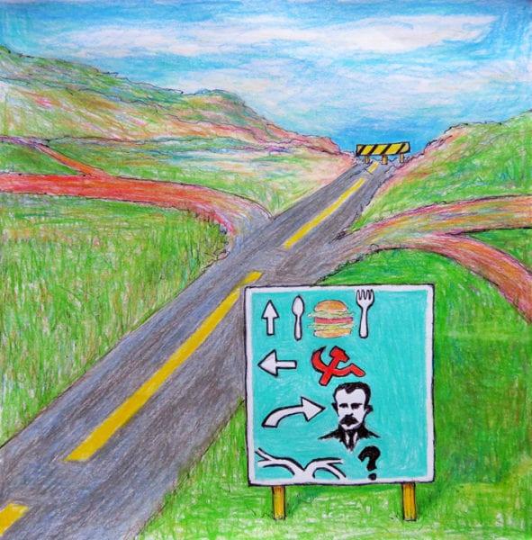 Caminos de Cuba. Ilustración: Carlos