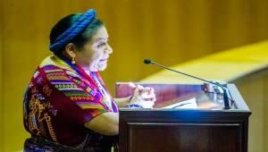 Rigoberta Menchu. Foto: telesurtv.net