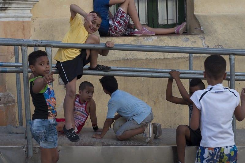 Niños cubanos. Foto: Yinet Pereira