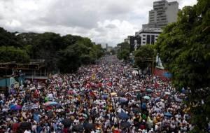 Marcha del 1 de septiembre. Foto: elpais.com
