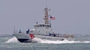 Barco de la Guarda Costa estadounidense.