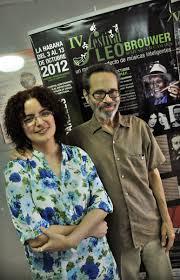 Isabel Hernández y Leo Brouwer