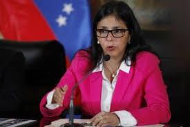 Delcy Rodríguez.  Foto: correodelorinoco.gob.ve