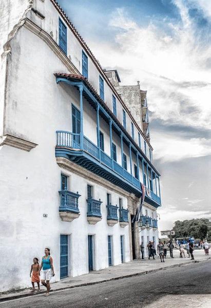 En La Habana Vieja. Foto: Caridad