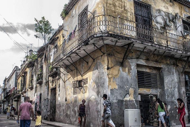El La Habana Vieja. Foto: Caridad