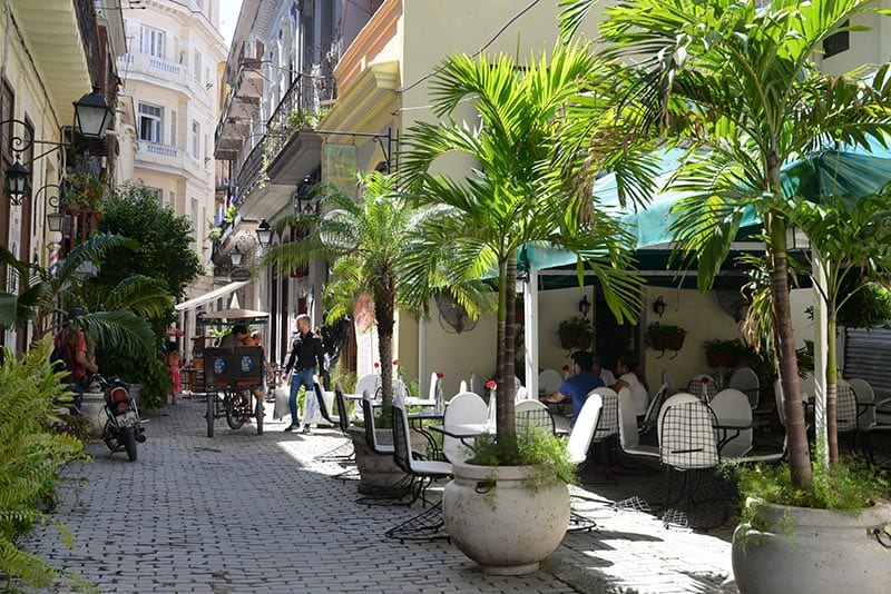 Entonces se hizo la magia y la calle más fea de la Habana Vieja se transformó como Cenicienta, pero nada desapareció a la medianoche, por el contrario, cada vez fue creciendo la belleza del lugar.