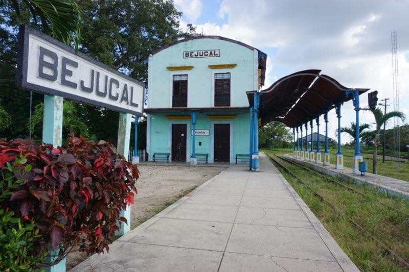 Estación de trenes de bejucal.