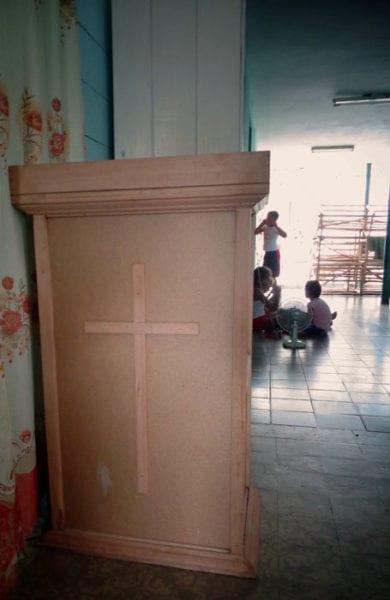Iglesia en la casa.