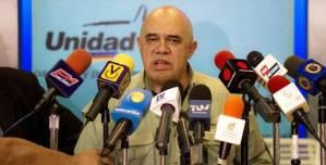 Jesus Torrealba, portavoz de la coalición MUD.  Foto: mercopress