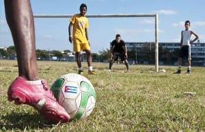 El fútbol ha crecido enormemente en el interés de los cubanos.