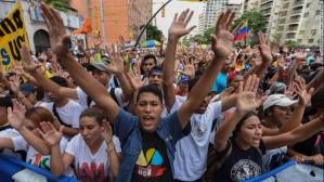 Hubo protestas en casi todo Venezuela.