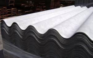 Laminas de fibrocemento con asbesto. Foto: cubachelinda.blogspot.com
