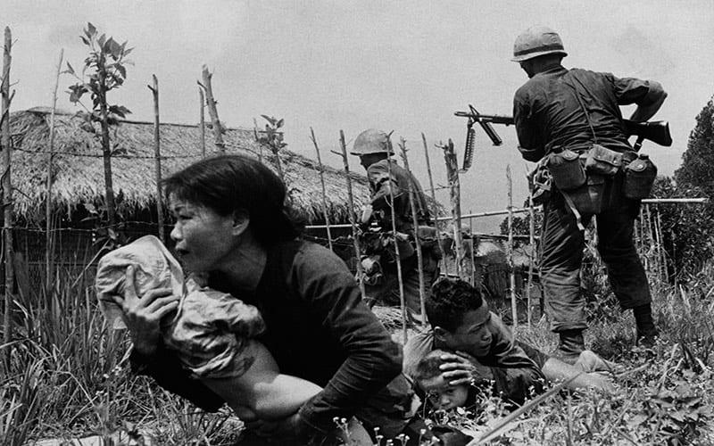 Vietnam fue destruido por EE.UU., los daños de la guerra fueron mucho mayores que los del bloqueo a Cuba.