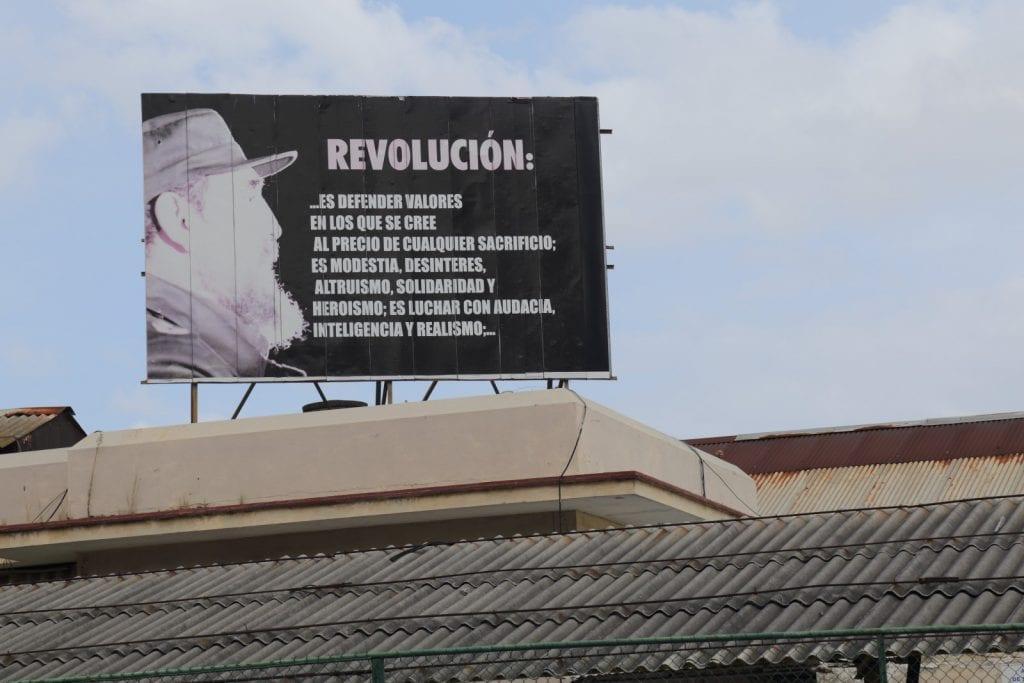 El concepto de Revolución. Foto: Juan Suarez