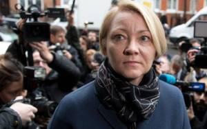 Ingrid Isgren, representante de la Fiscalía de Suecia.   Foto: Justin Tallis/AFP/Getty