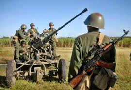 Fuerzas de la Defensa Antiaérea. Foto: diariomayabeque.cu