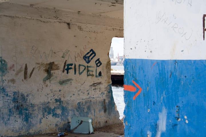 Muro en La Habana. Foto: Janis Wilkens