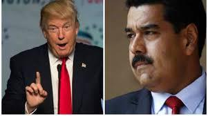 Trump y Maduro.  Fotos: elinformador.com.ve