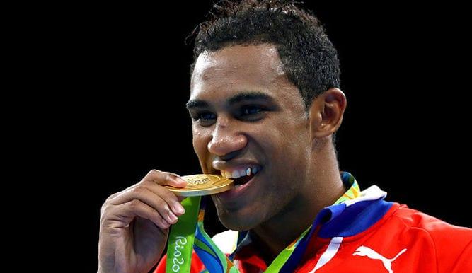 Arlen Lopez, medalla de oro. Foto: tvn-2.com