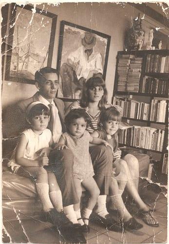 Foto tomada en junio de 1968 antes de la salida de mi padre.