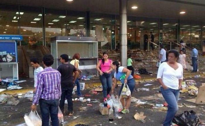 Saqueos en Venezuela.  Foto: runrun.es