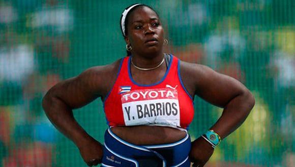 Yarelis Barrios perdió su medalla de plata de Beijing 2008 por doping.
