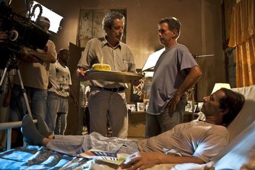"""Durante el rodaje de """"Los ultimos días en La Habana"""" de Fernando Pérez."""