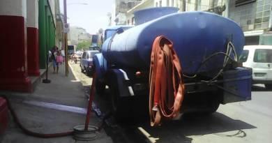 El agua que necesitamos en La Habana Vieja