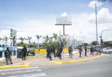 La protesta va este sábado en Managua a pesar del asedio