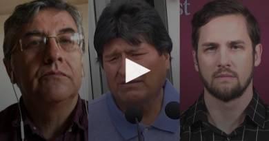 Debate sobre la crisis política en Bolivia (video)
