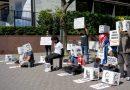 Fotos de Nueva York: Contra la prisión política en Cuba